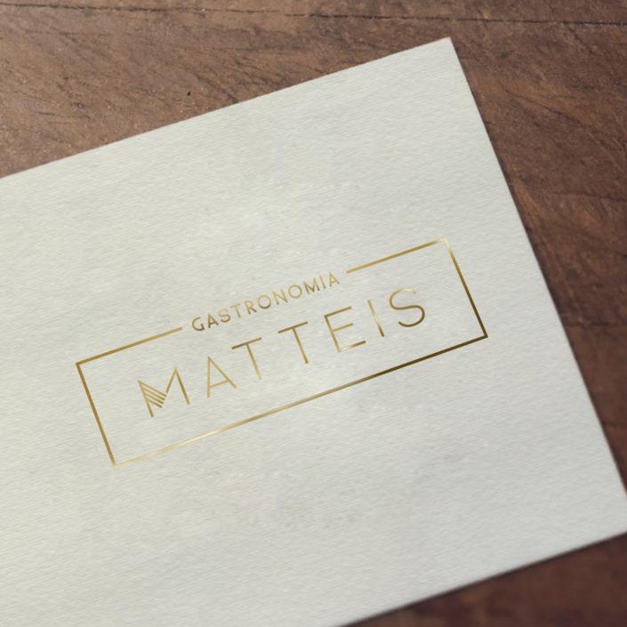 Logo Design - Matteis Gastronomia