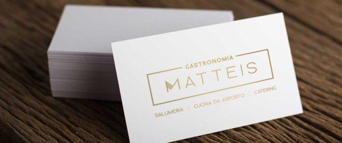 Matteis Gastronomia - Business-card
