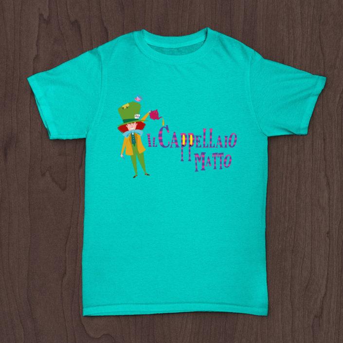 Il Cappellaio Matto - T-shirt Personalizzate