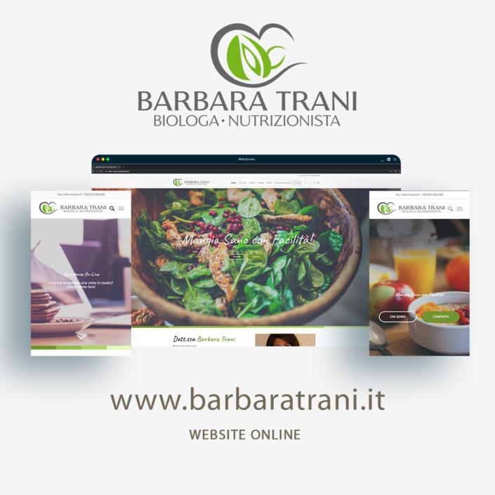 Dottoressa Barbara Trani - website