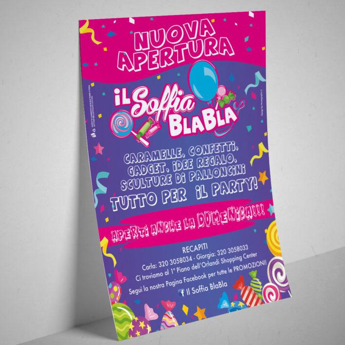 Il Soffia Blabla - Flyer