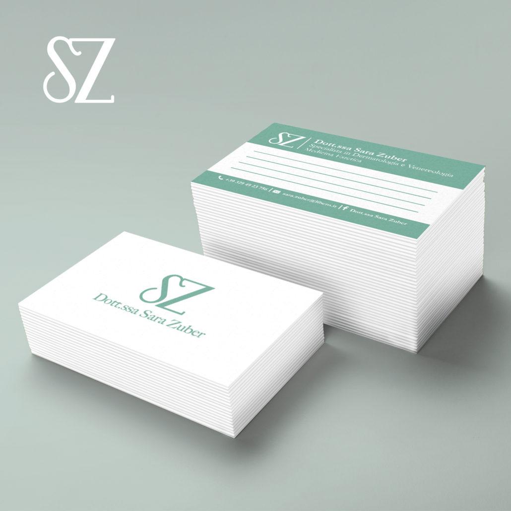 Dottoressa Sara Zuber - Biglietti da Visita
