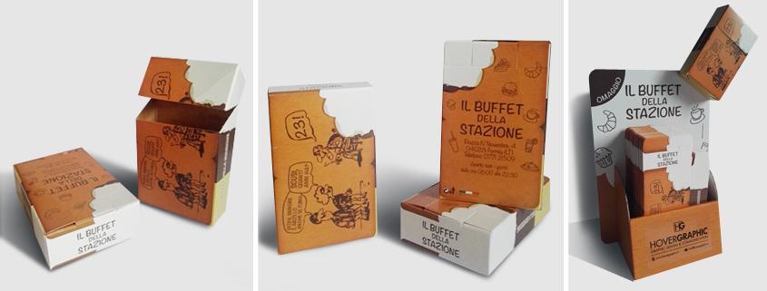 Il Buffet della Stazione - Copri pacchetto personalizzato