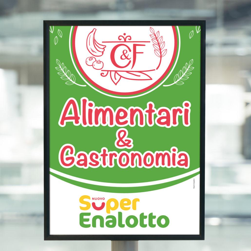 Pannello Forex uso Esterno - C&F Alimentari & Gastronomia