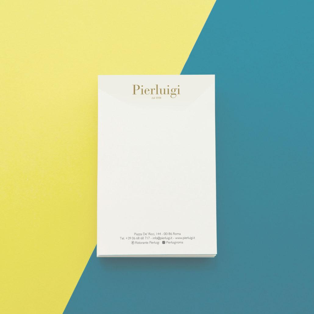 Ristorante Pierluigi -Block-Notes