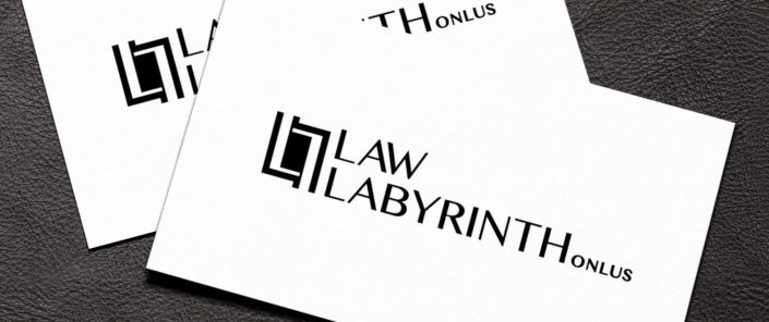 Law Labyrinth Onlus - Business card