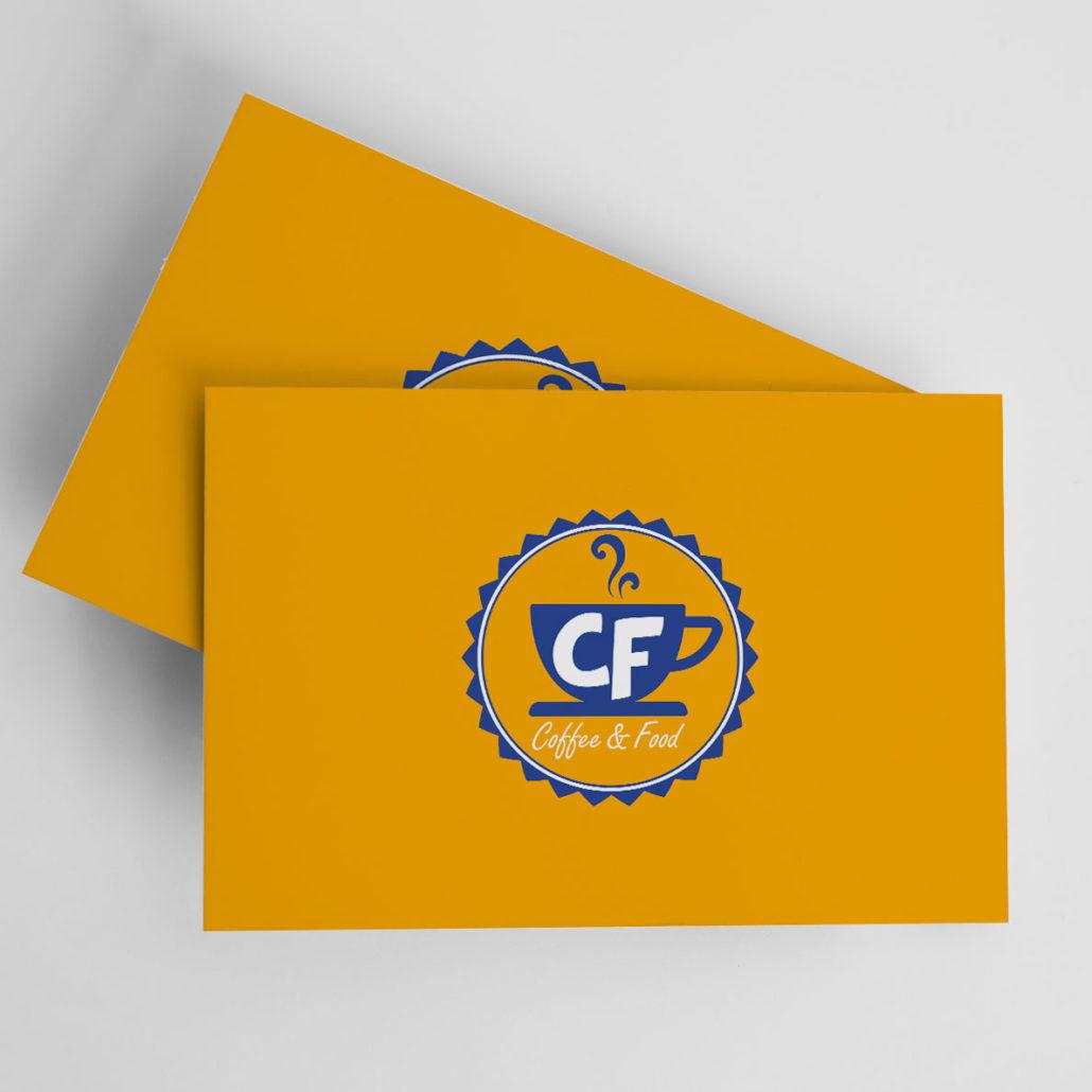 CF COFFEE & FOOD - Biglietto da Visita