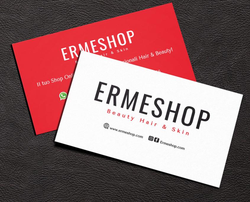 Ermeshop Biglietto da Visita Restyling