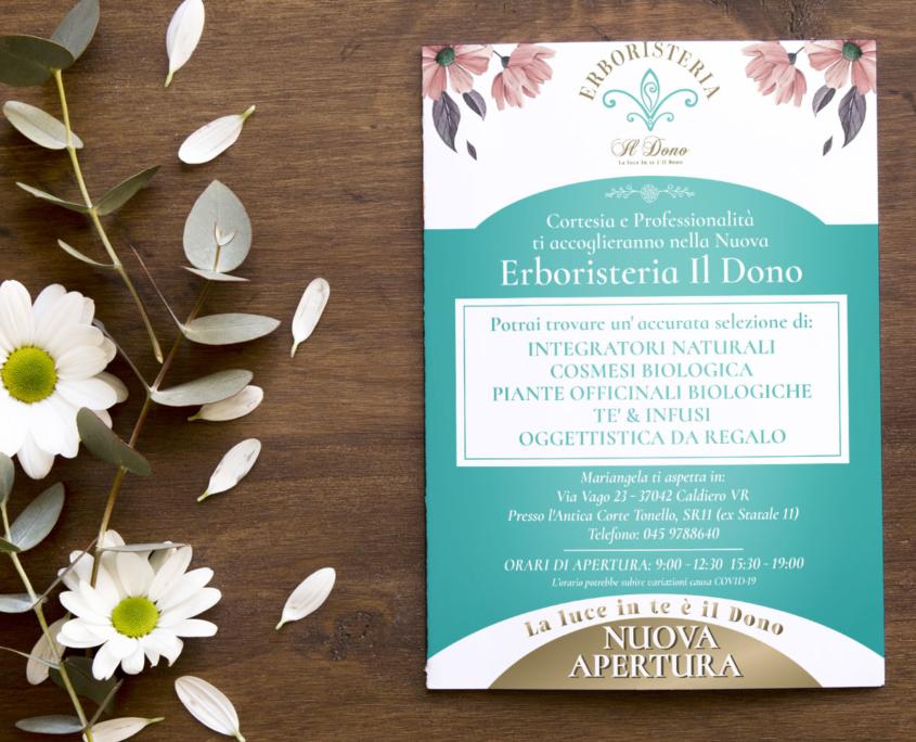 Erboristeria Il Dono - Volantino