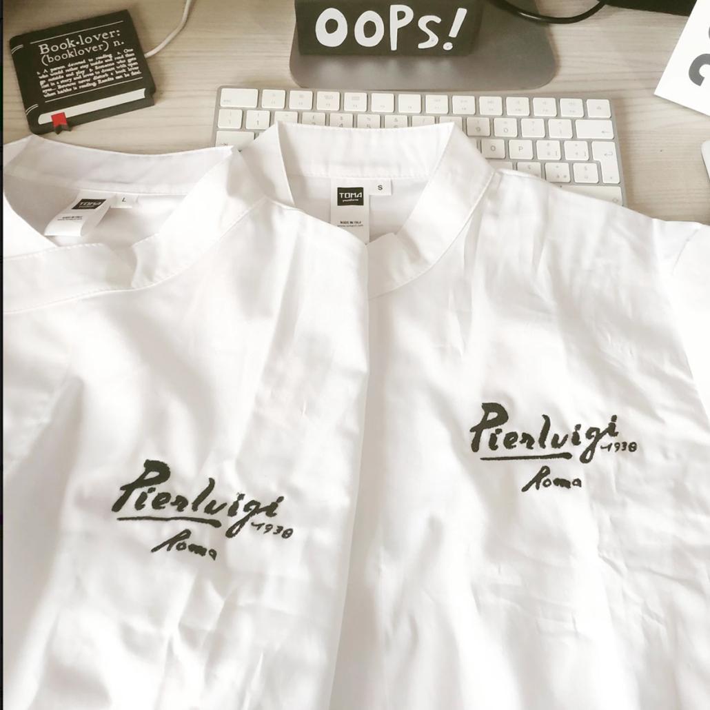Ristorante Pierluigi Camicie da Chef